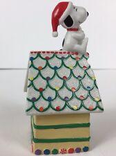 Hallmark Snoopy 2002 Peanuts Gallery Home Sweet Home Trinket Box House