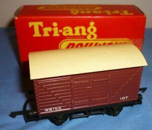 TRIANG OO GAUGE BR 10 Ton CLOSED VAN W8755 R11 BOXED