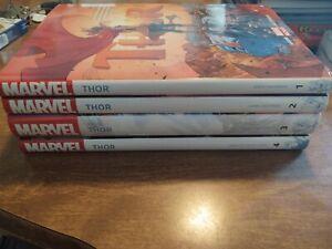 Thor by Jason Aaron Hardcover Set Vol 1 2 3 4