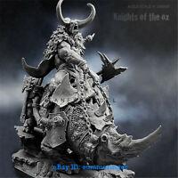 140mm Knight Of The Monster Figure Resin Model Kits Unpainted YUFAN Model