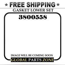 c5ca4552a48de 3800558 LOWER GASKET SET Fits TRACTORS TRUCKS CUMMINS DIESEL TURBO 8.3L 6CT