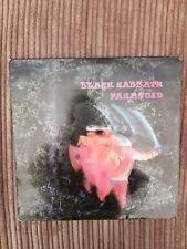 Black Sabbath 12inch Vinyl - Paranoid 1976 NEL 6003  EXCELLENT VINYL Made in Ire