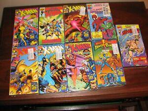 X Men Spiderman Sub Mariner VHS Cassette Tapes Sealed