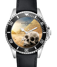 Totenkopf Skull Geschenk Fan Artikel Zubehör Fanartikel Uhr L-2724