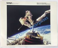 Vintage NASA Space Mission 51-A Salvage Payload Bay Astronaut Photo