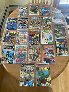 Old Comic Book Collection Lot ! Great Gift Good Starter Set 20 Classic Comics !