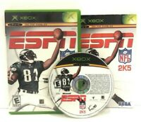 ESPN NFL 2K5 (Microsoft Xbox, 2004) - 100% COMPLETE - TESTED & WORKING