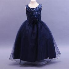 Ropa, calzado y complementos de dama de honor sin marca color principal azul