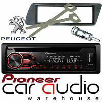 Peugeot 306 Pioneer CD MP3 USB AUX In Car Stereo Radio Player & Full Fitting Kit