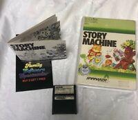 Commodore 64 Computer Video Game Story Machine