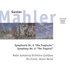 Symphonie No. 6 - Tragische Gustav Mahler Audio CD