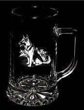 Sitting GERMAN SHEPHERD / ALSATIAN Boxed 40cl STARBASE STERN TANKARD *Dog Gift*