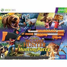 NEW Xbox 360 Cabela's Big Game Hunter Hunting Party & Top Shot Sport Gun Bundle
