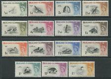 Falkland Islands QEII 1960 Birds complete set to £1 mint o.g.