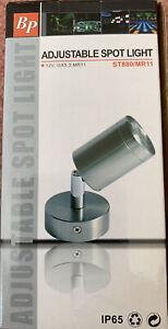Beal Pritchett Stainless Steel 316  Adjust Spot Light 12v 35W MR11 IP65