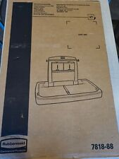 Rubbermaid Commercial Products Horizontal Baby Changing Station Fg781888