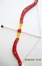Arc +5 fleches  en bois  taille 75 cm (jeux jouet enfant) (artisan createur)