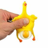 Legen Huhn Squeeze Spielzeug Mit Schlüsselanhänger Entspannung Streichmacher