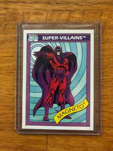 1990 Marvel Universe Series 1 MAGNETO Toy Biz PROMO CARD Variant RARE