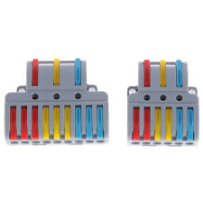Quick Wire Connector PCT SPL Wiring Cable Connectors Push-in Conductor TermiBDA