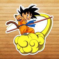 Dragon Flying Nimbus Young Kid Goku Die Cut Wall Car Window Decal Sticker