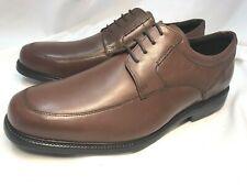 ROCKPORT Men's Charles Road Apron Toe Tan Brown Size 13 M V82592 $110 NWOB