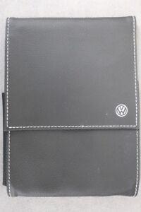 VW  Bordmappe für Betriebsanleitung / Bedienungsanleiteung - Farbe: Schwarz