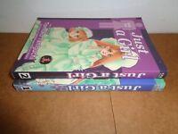 Just a Girl vol. 1-2 by Tomoko Taniguchi CPM Manga Book Complete Lot in English
