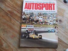 Autosport 11 March 1971 South African GP Hankiralli BMW 2800CS Surfers Paradise
