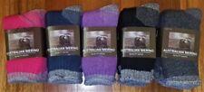 Merino Wool Patternless Machine Washable Socks for Women