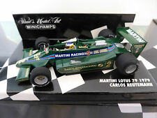 Minichamps 1:43 Carlos REUTEMANN MARTINI Lotus 79 1979 F1 Race Car