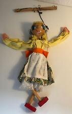 Vintage Wooden String Puppet