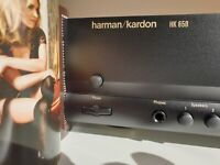 harman kardon hk 650 690 integrato come rotel o creek dual mono elna capacitor