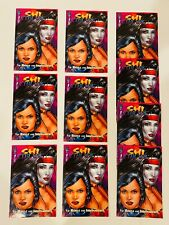 10 COPIES SHI CYBLADE BATTLE FOR THE INDEPENDENTS #1 - EARLY WITCHBLADE NM/NM+