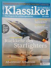 Klassiker der Luftfahrt   02/2018   ungelesen 1A abs.TOP