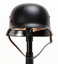 Black Ww2 German Elite Wh Army M35 M1935 Steel safety Helmet Stahlhelm solid US