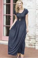 Matilda Jane Deep Water Maxi Dress Size XS X Small Womens Blue New In Bag