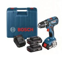Bosch Professional GSB 18-2-LI Plus Cordless Combi Drill with Two 18 V 1.5 Ah Li