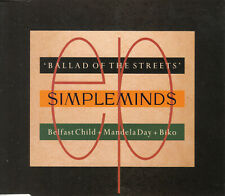 Simple Minds - Ballad Of The Streets MCD 1989 Synth-pop