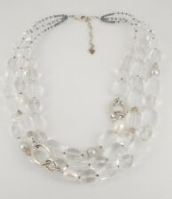 Silpada .925 Sterling Silver, Pearls, Agate & Glass Necklace N1789, Retail $179
