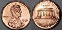 1999 - ALMOST NICKEL SIZE OFF CENTER BROADSTRUCK LINCOLN CENT MAJOR ERROR #8573