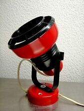Vintage 80s Red wall lamp / East Germany