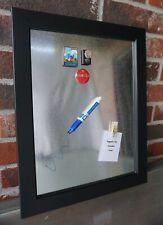 Memo Board Farmhouse Galvanized w/ Black Frame & FREE Art Magnet. GREAT GIFT!