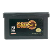 Golden Sun (Nintendo Game Boy Advance, 2001) RPG GBA Tested Authentic Cart Only!