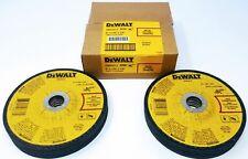 "(Box of 10) DEWALT DWA4513 6"" X 1/8"" X 7/8"" Metal Cutting/Grinding Wheels"