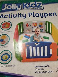 Jolly Kidz Activity Playpen - Multocoloured