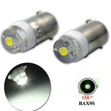 4x COB LED 433 434 H6W BAX9S OFFSET PINS HID XENON WHITE SIDE LIGHT 6V 0.5W
