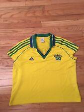 Brasil Vintage Adidas 2003 Women's Soccer Jersey Size XL