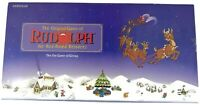 Rudolph the Red Nosed Reindeer Board Game Montgomery Ward Exclusive 1995 Vintage