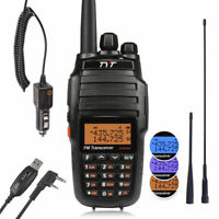 TYT UV8000E 10W HP CrossBand Decoder 128CH V/U +Antenna Ham Walkie Talkies Radio